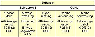 Bilanzierung Bzw Aktivierung Von Software Auch Als Gwg