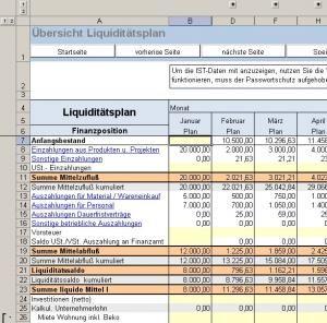 Liquiditatsberechnung Erstellen Sie Ihre Liquiditatsvorschau