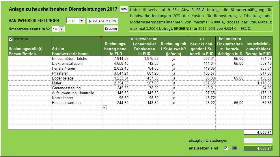 35a Estg Steuerermäßigung Bei Aufwendungen Für Die Inanspruchnahme